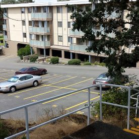 condo lot - line painting